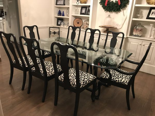 Groovy Dining Room Set With 10 Chairs For Sale In High Point Nc Offerup Beutiful Home Inspiration Xortanetmahrainfo