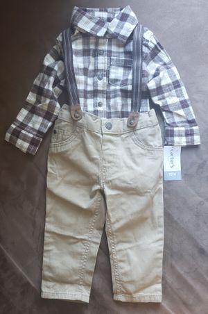 d8c19e179 Carter's Baby Boys Suspender Pants and Shirt for Sale in Miami, FL