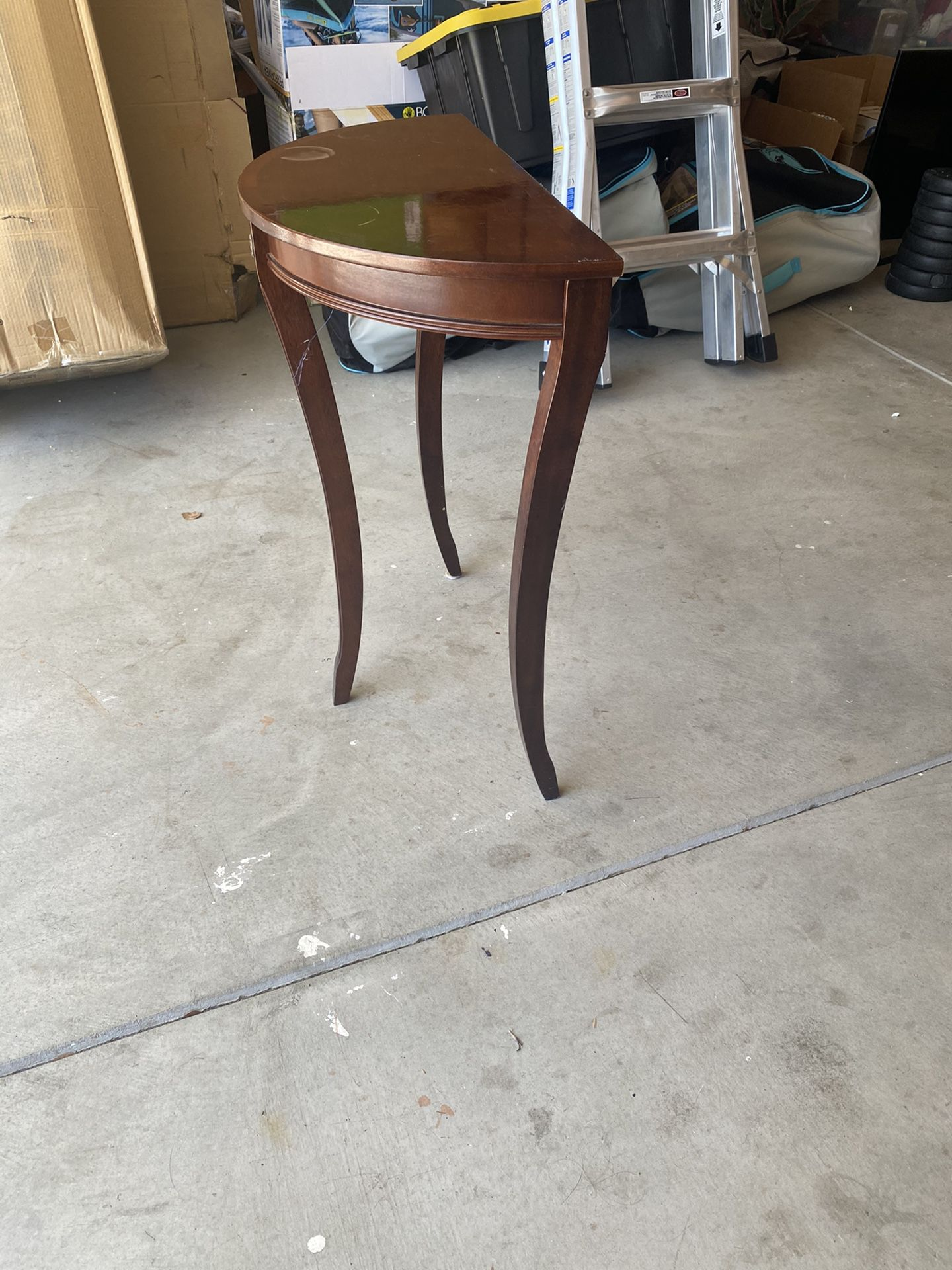 End Table Or Night Stand  Real Wood