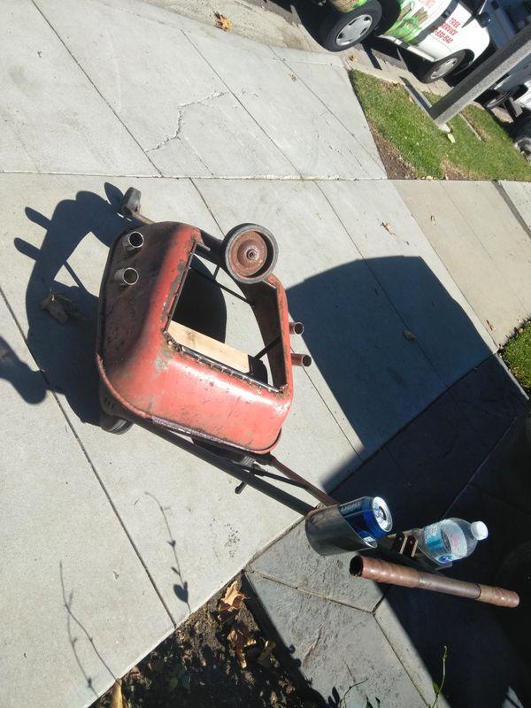 Rat Rod Go Kart Stroller Cup Holder Custom Exhaust For
