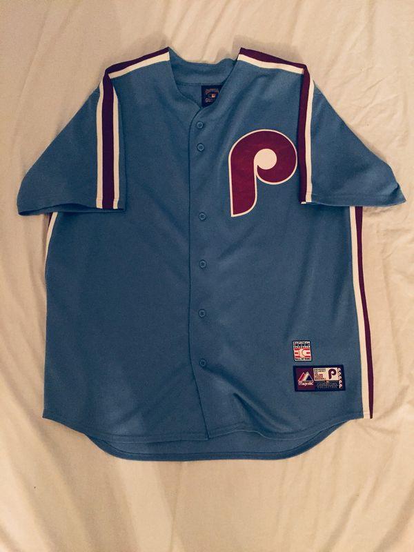 best sneakers b799f 8774e Mike Schmidt Philadelphia Phillies Jersey MLB Baseball Majestic for Sale in  Harrisburg, PA - OfferUp