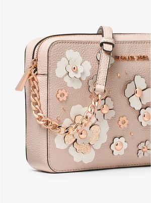 MICHAEL KORS FLORAL JET SET CROSS BODY for Sale in South Riding, VA