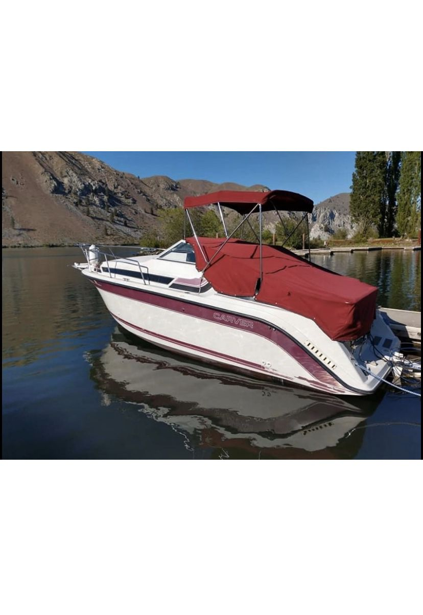 Photo 1990 Carver Montego 2357 Boat EZ load trailer Please dont waste my time, if your not ready to buy a boat