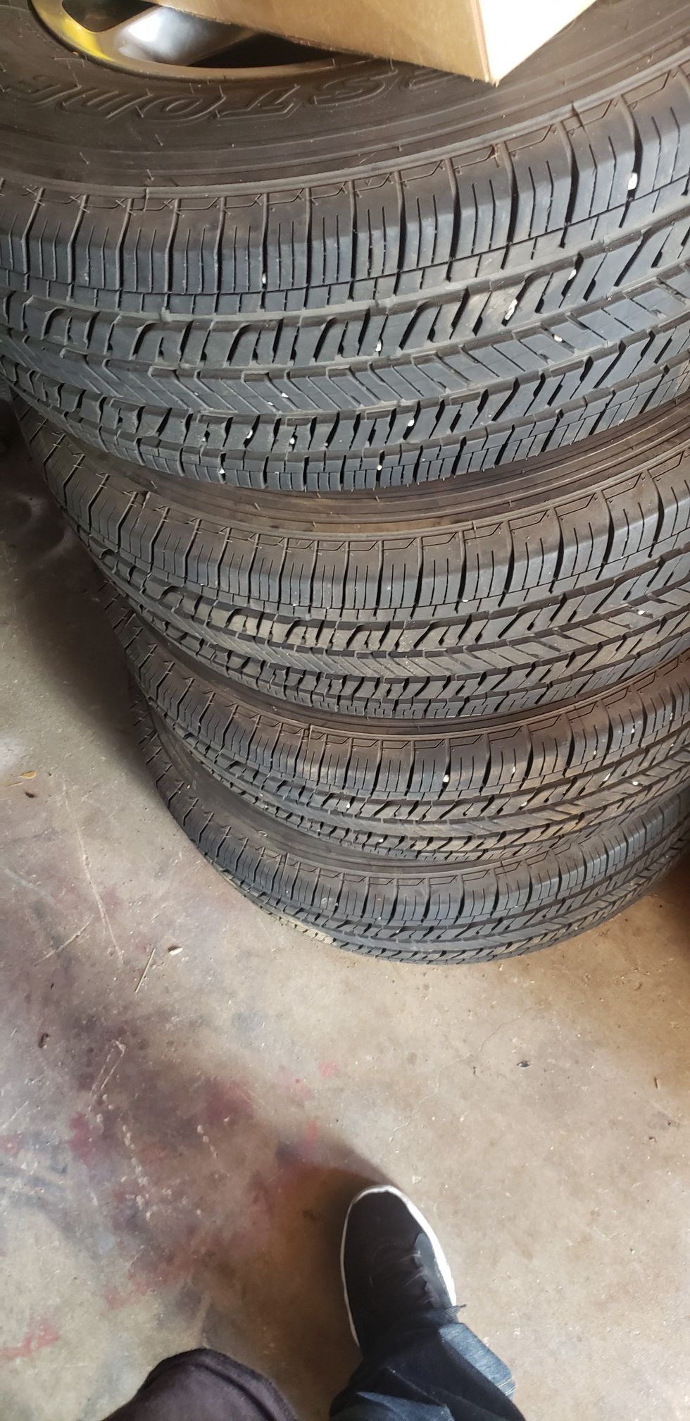 JEEP wrangler Tires + Rims