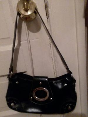 Black leather mini purse for Sale in Lynchburg, VA