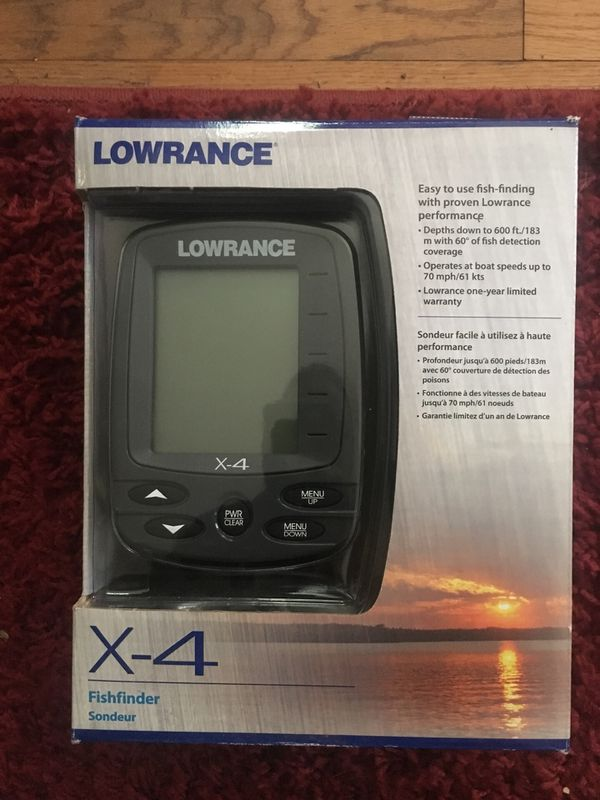 New Lowrance fish finder for Sale in Gilmer, TX - OfferUp