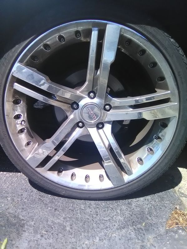 Used 20 inch rims for sale.. (Cars & Trucks) in Columbus, GA - OfferUp