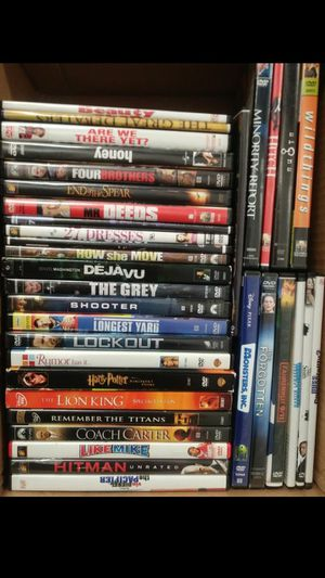 Box of movies over 35 for Sale in Atlanta, GA