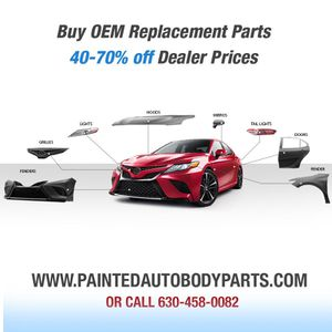 Auto Body Parts Painted. Bumper Fender Hood for Sale in Addison, IL