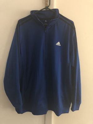 Men's ADIDAS Blue Sweatsuit Jacket Blue. for Sale in Rockville, MD