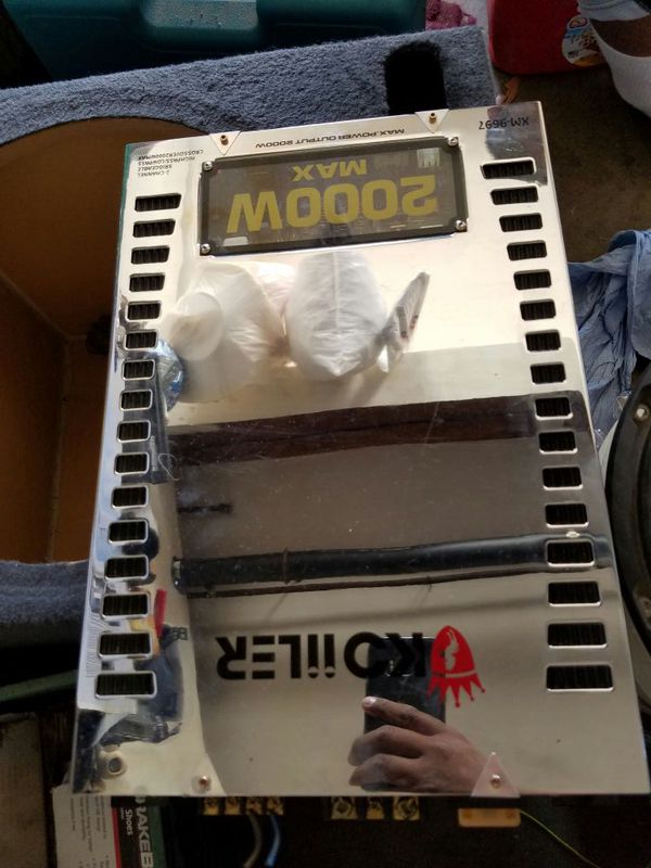 2000 watt koiiler amp 120 like new for Sale in Oceanside, CA - OfferUp