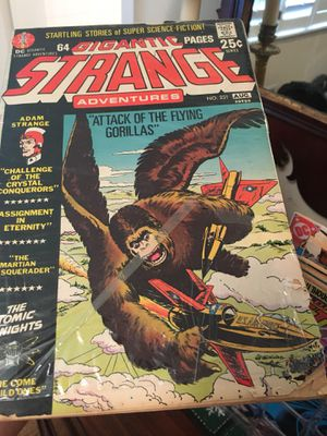 Gigantic Strange Comic-good used condition behind plastic covering with small tear in corner (see pics) for Sale in Atlanta, GA