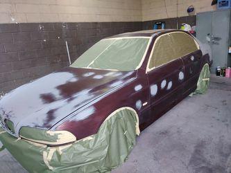 Trabajos d body shop y pintura d carros Buenos precios. Dr trabajan con aseguranzas. Thumbnail