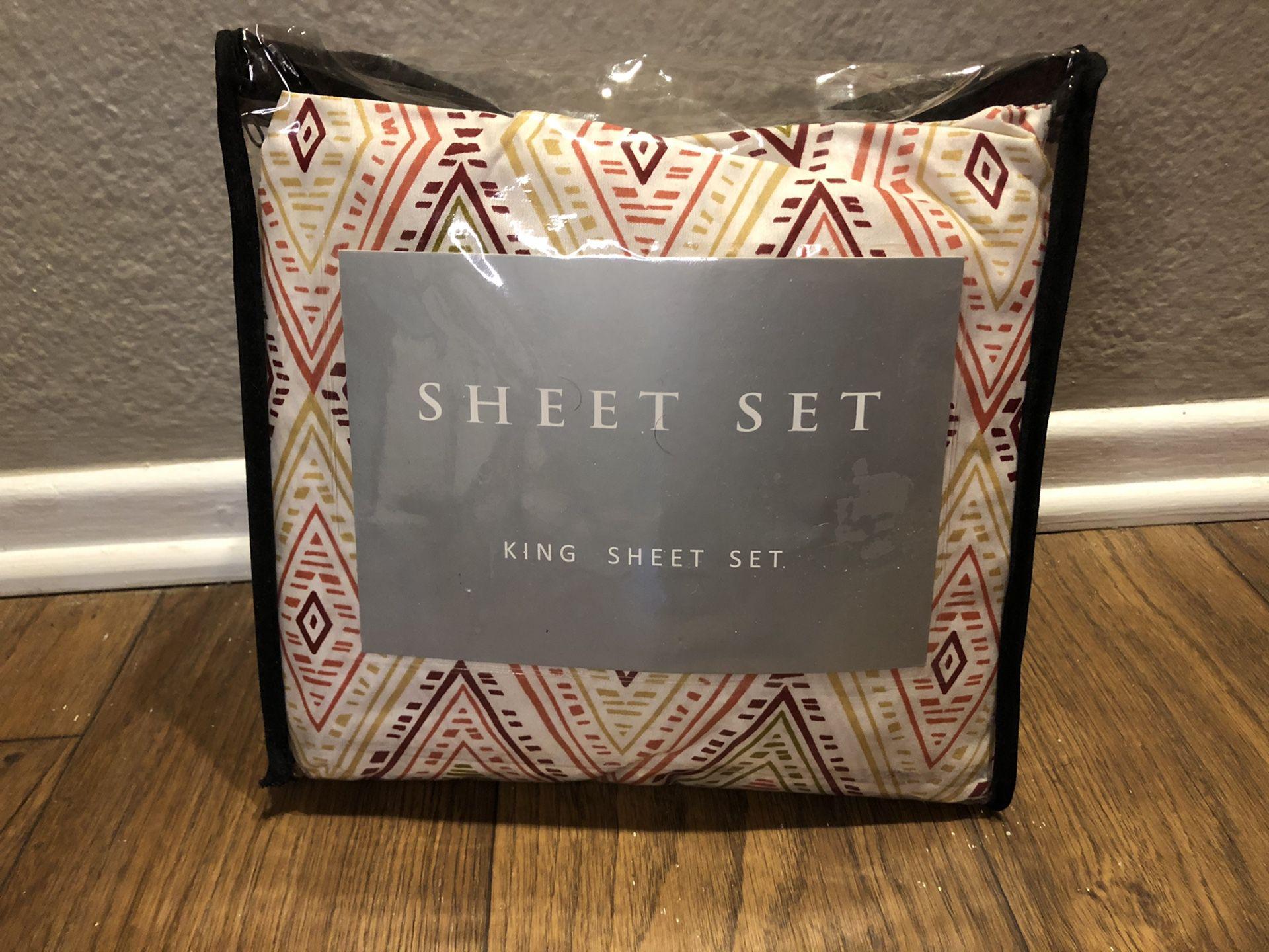 King Sheet set