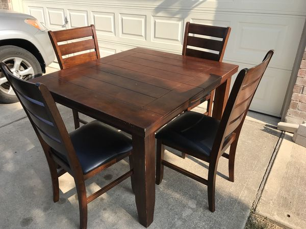 dining table with 4 chairs (furniture) in austin, tx - offerup 4 Chair Dining Table