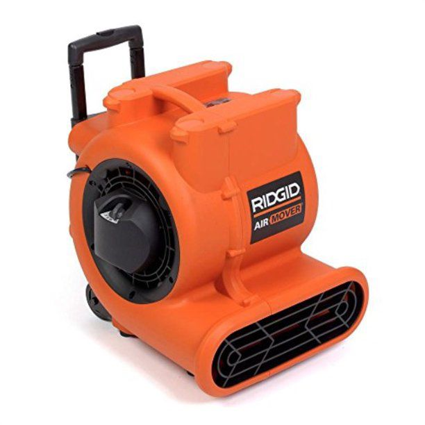 RIDGID 1625 CFM Blower Fan Air Mover with Handle and Wheels