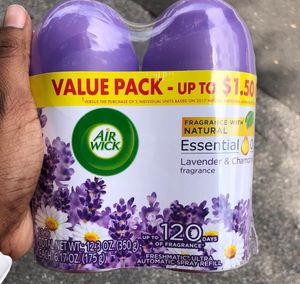 Air Wick Freshmatic Air Refill Spray Freshener Lavender Chamomile 6 Pack for Sale in Montgomery Village, MD