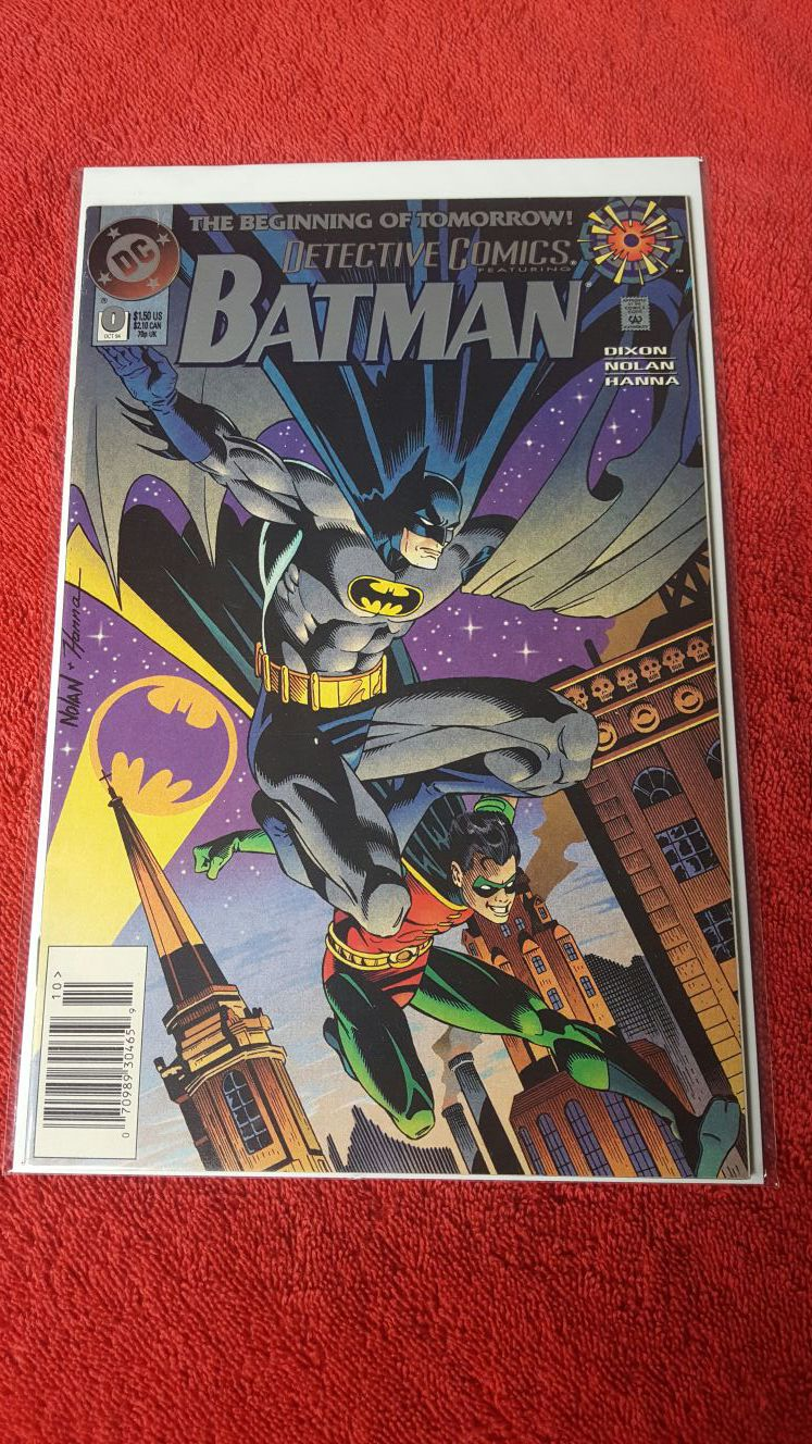 DC Detective Comics #0 featuring Batman