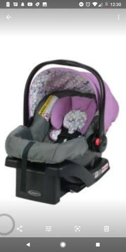 Graco click connect verb carseat in color Perry Thumbnail