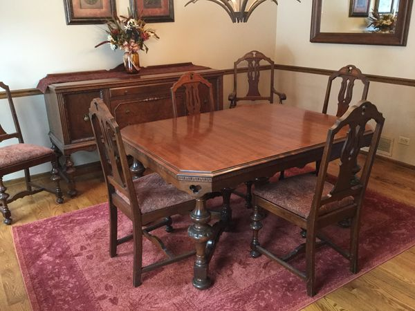 Jacobean Dining Room Set Rockford Furniture Co For Sale In Long Grove Il Offerup