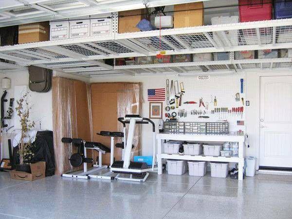 Saferacks overhead garage storage special for sale in queen