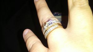 Engagement ring and wedding band for Sale in Philadelphia, PA