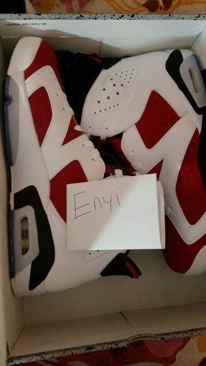 New Nike Air Jordan Carmine VI 6 Sz 12 for Sale in Gaithersburg, MD