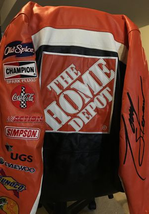 Authentic Wilson's Leather Tony Stewart Jacket for Sale in Martinsburg, WV