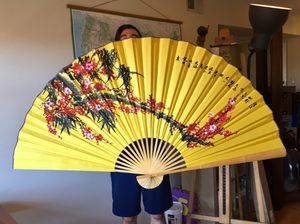 Oriental fan wall art for Sale in Santa Monica, CA