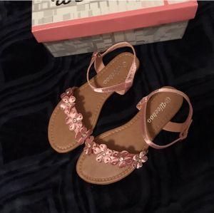 New women's satin pink sandals size 6.5 for Sale in Phoenix, AZ