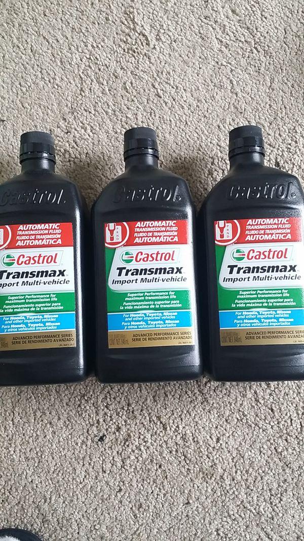 Set of 3, Castrol transmax transmission fluid for Sale in Henrico, VA -  OfferUp