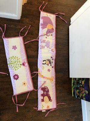 Baby Girl CRIB BUMPER for Sale in El Segundo, CA