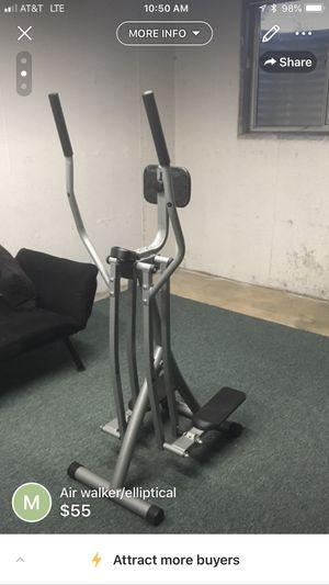 Air walker/elliptical for Sale in Denver, CO