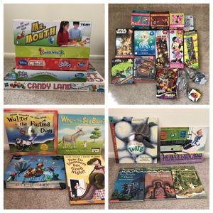 Kids games, books, & puzzles for Sale in Alexandria, VA