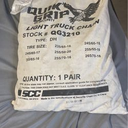 Quik Grip Tire Chain By Security Chain Co. Thumbnail