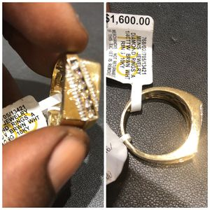 Mens Gold and Diamond Ring for Sale in Washington, DC