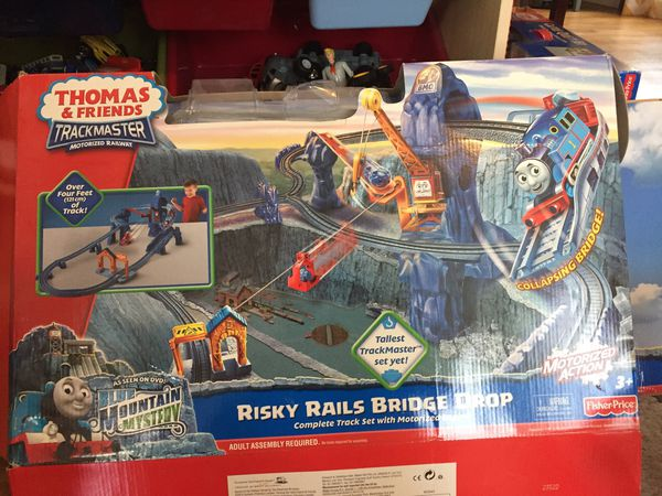 Thomas And Friends Trackmaster Risky Rails Bridge Drop For Sale In