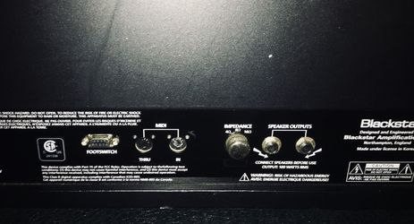Blackstar Series One 100 Watt Tube Amp ( + Footswitch ) Thumbnail