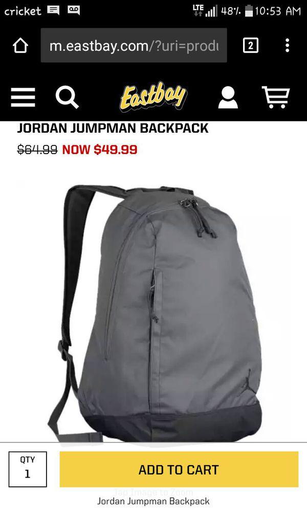 285c1ae57949 Grey Jordan Jumpman Back Pack for Sale in Phoenix