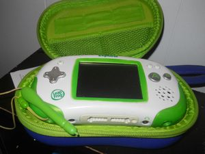 Leapster Explorer learning game system in carrying case that holds unit, 6 games, extra batteries, and power cord. for Sale in Morgantown, WV