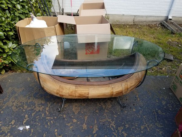 Canoe Coffee Table Glass Top.Canoe Table Home Decorating Styles