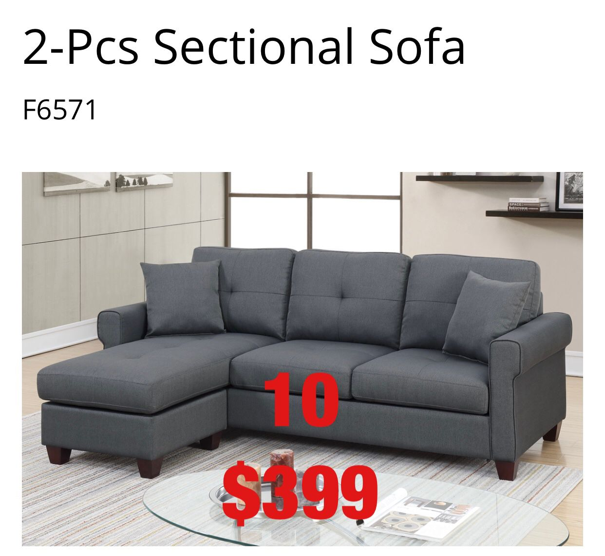 Furniture Sofa. Assembly required. Assembly not included. Free delivery.