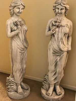 """Large 50""""H each brand new 2 resin goddesses statue check out my other items on this page message me if you interested gaithersburg md 20877 for Sale in Gaithersburg, MD"""