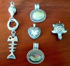 Silver pendants for Sale in Arlington, VA