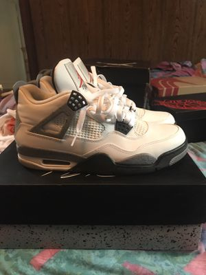 Retro Air Jordan Cement 4 size 8.5 for Sale in Richmond, VA