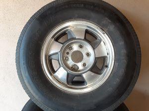 Photo 265 70 R16 Excellent Chevy Wheels Silverado Tahoe Suburban