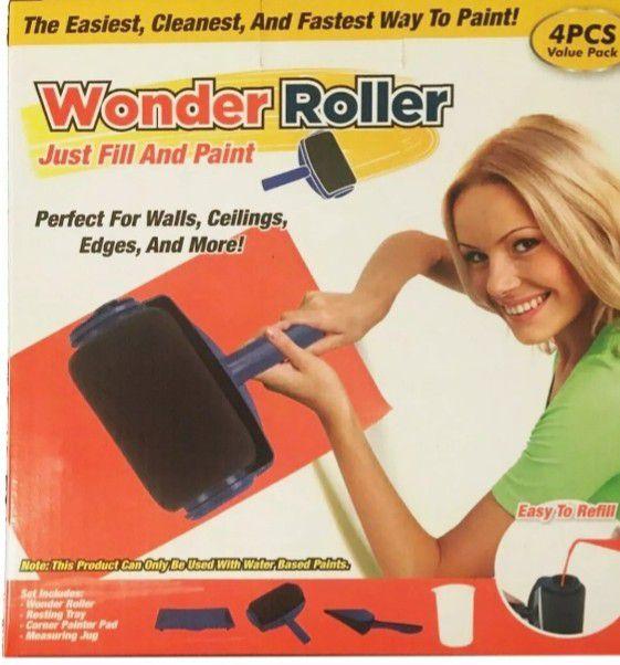 BRAND NEW 4Pcs Value Pack Wonder Jumbo Paint Roller ...