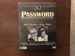 Password 50th Anniversary Edition board game for Sale in Alexandria, VA