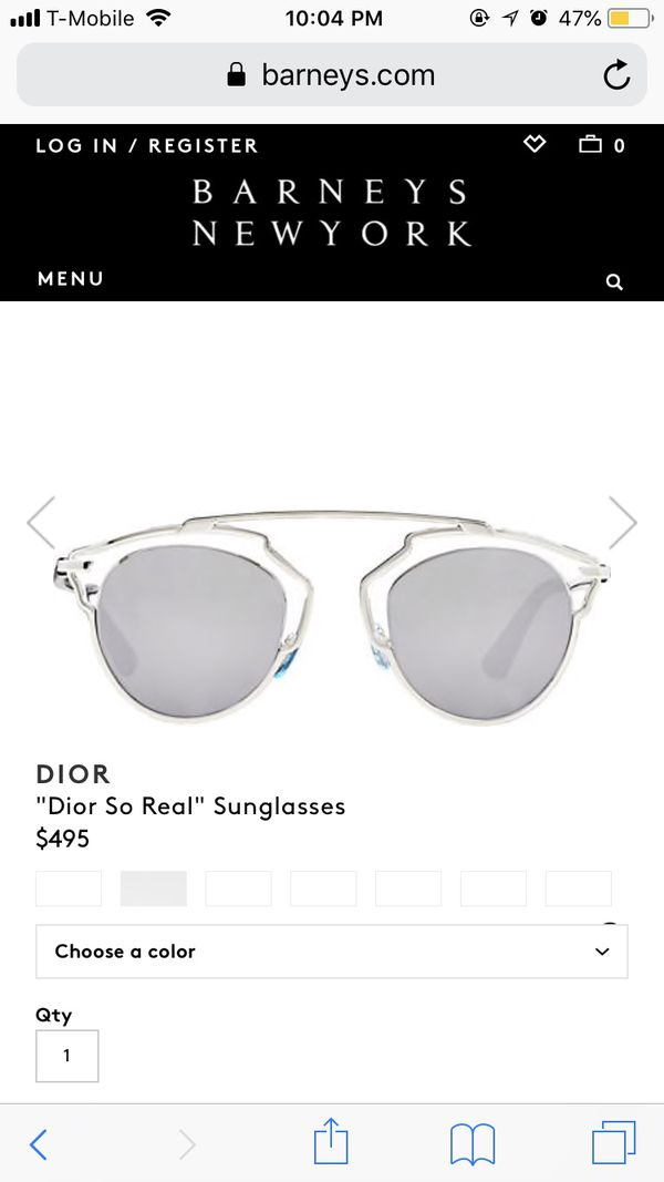 82fd5d47a20c6 Dior So Real style Sunglasses for Sale in Philadelphia