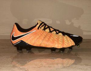 0e4078f8c86 Nike Hypervenom Phantom III FG Soccer Cleats Laser Orange 852567-801 Mens  US 7.5 for